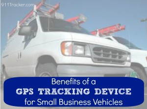 GPS Tracking Small Business Logo