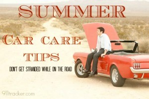 911 Summer Car care tips logo