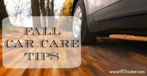 911tracker fall car care tips logo