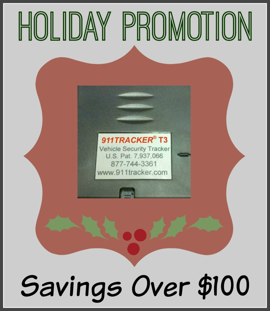 911Tracker Holiday Promotion