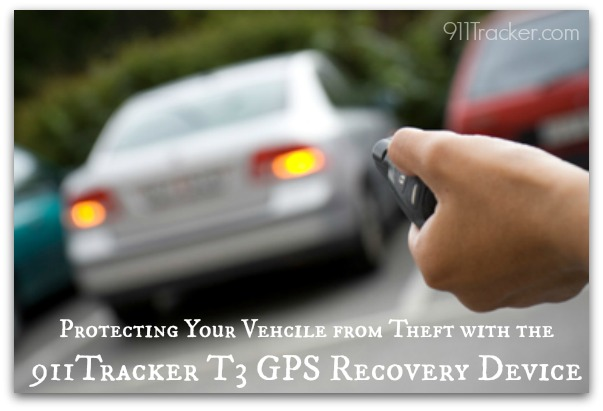 911Tracker Car Theft logo