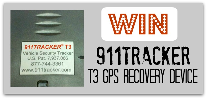 911Tracker T3 Giveaway Logo