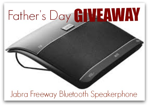 911 bluetooth speakerphone giveaway logo
