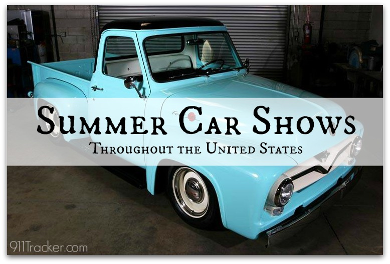911Tracker Summer Car Shows