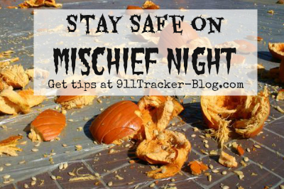 stay safe on mischief night