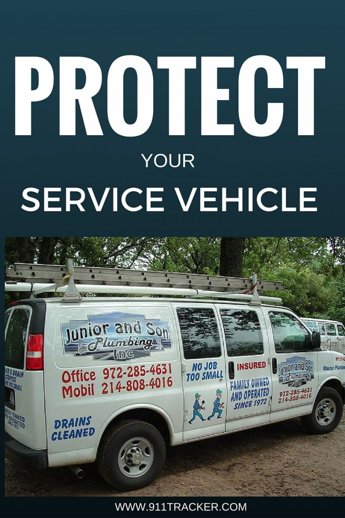 protect your service vehicle | 911Tracker
