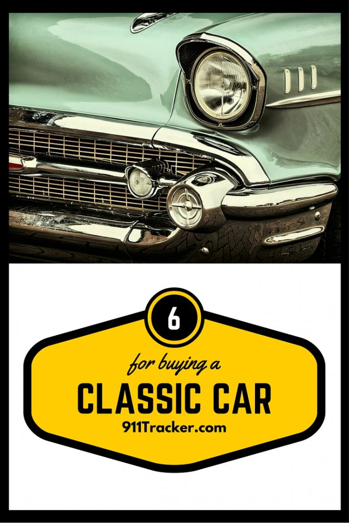 6 tips for buying a classic car 911tracker blog. Black Bedroom Furniture Sets. Home Design Ideas