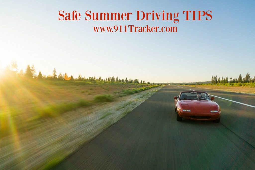 safe summer driving photo 911tracker